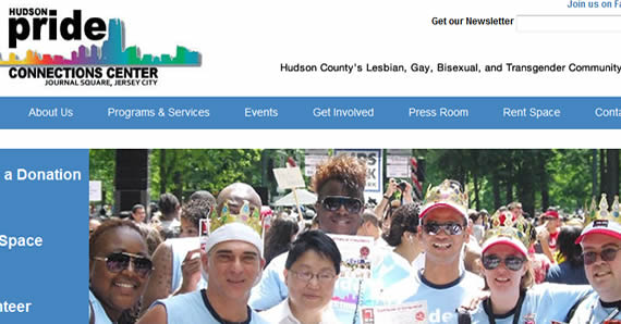 Hudson Pride Website Built on Wordpress by RLH Creative